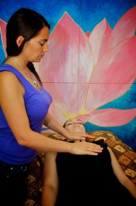 Reiki Treatment Standing image by Samuel Lindner